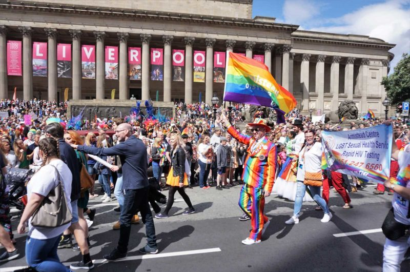 Liverpool Pride 2019 Attended in Full Colour by Revolution Four