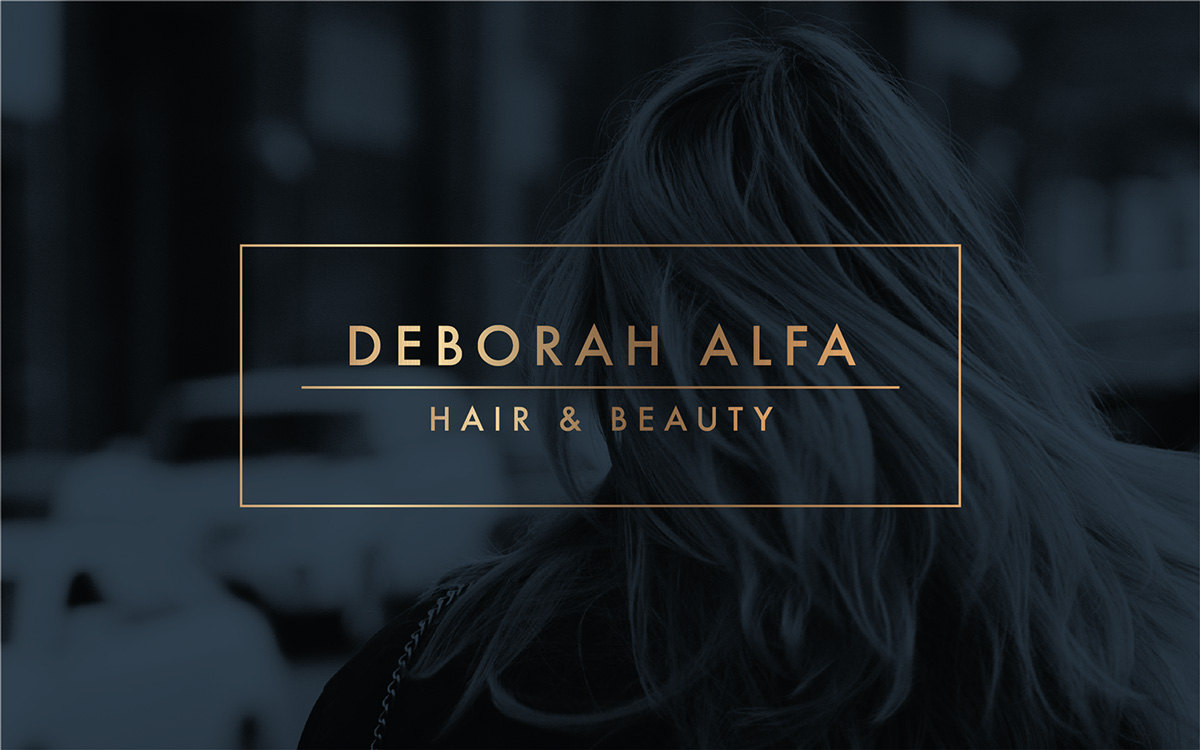 Graphic Design | Deborah Alfa Hair & Beauty Gets a Restyle | Revolution Four