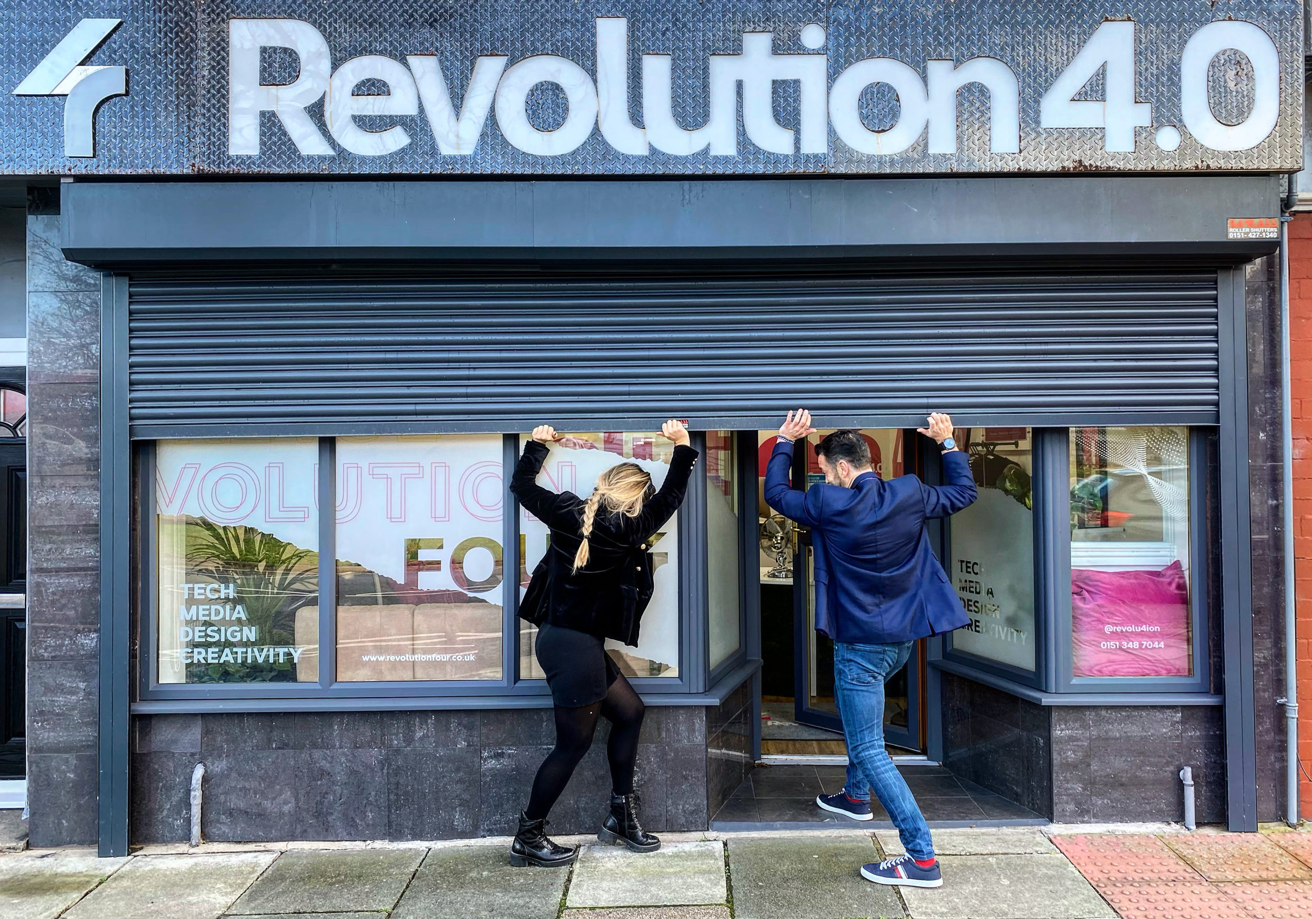 Revolution Four keeping businesses open online
