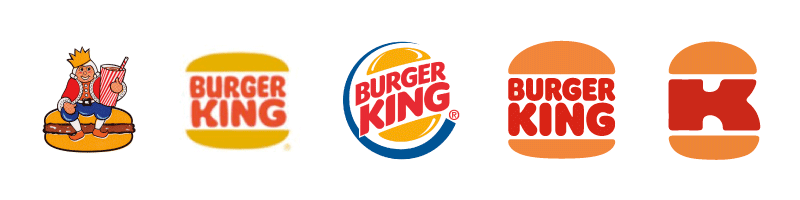 Graphic design logo evolving in 2021