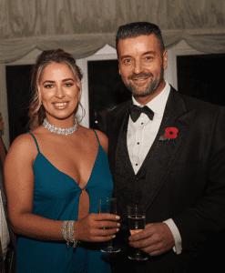 Nik Ellis & Justine McLaughlin Wirral Life Ball